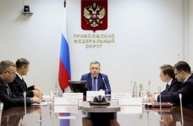 Alexey Sukhov summed up the results of the joint work on the development of interregional cooperation in the format of