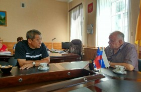 A working visit to the Sosnovoborsky district was held