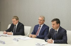 The Governor held a meeting with General Director of «Konoplex» company group