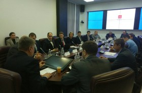 The meeting with company's representatives «AB Cogeneration World» was hold