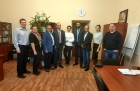 A meeting with representatives of RAO «Trakia» was held in AO «Penza Region Development Corporation»