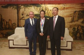 The delegation of the Penza region arrived in Yulin of the Shaanxi Province, People's Republic of China on a business visit